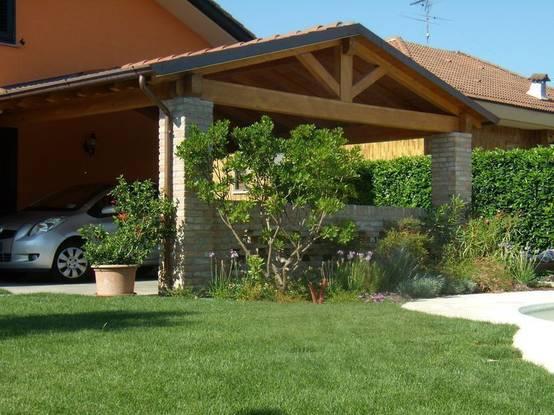 Come realizzare un portico per la casa - Tessili per la casa ...