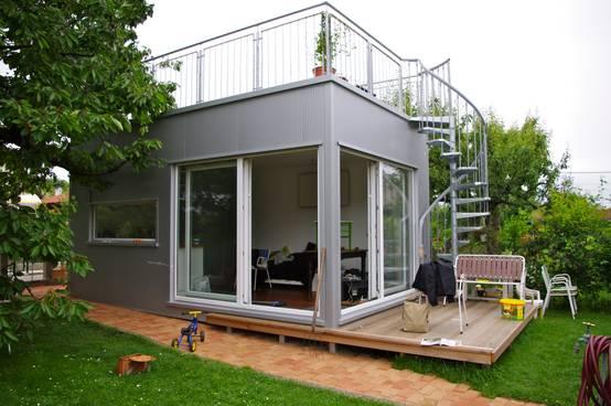 Ein minihaus mit perfekter raumaufteilung Mini haus bauen