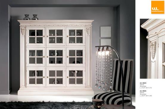 Diez vitrinas perfectas para exhibirlo todo con estilo for Mobili moderni per sala da pranzo