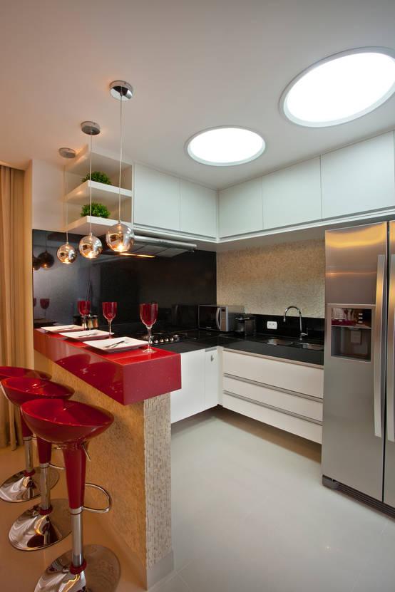 أفكار لتزيين سقف المطبخ بالديكورات الجبس