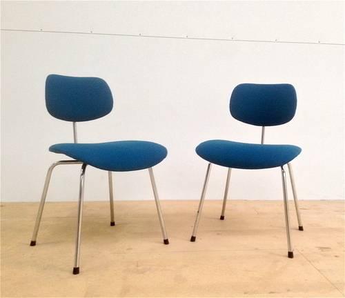 Pair of Egon Eiermann SE68 Chairs