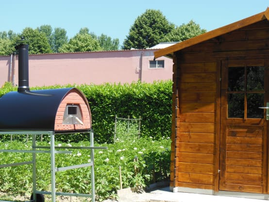 Wood fired oven Pizzone indoor or outdoor placement