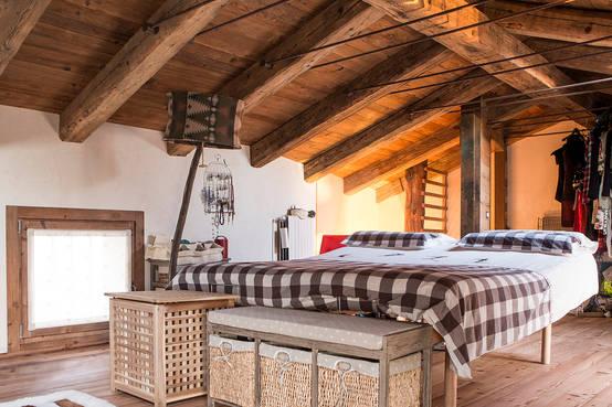 6 spunti per creare una camera da letto rustica da favola for Arredamento casa rustica