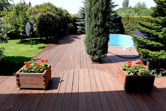 11 leuke idee n voor een houten terras - Bedek een houten terras ...