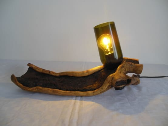 Lampe Upcycling !!