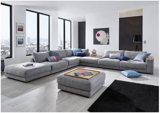 Salas 10 sof s modernos y fabulosos for Sofas grandes modernos