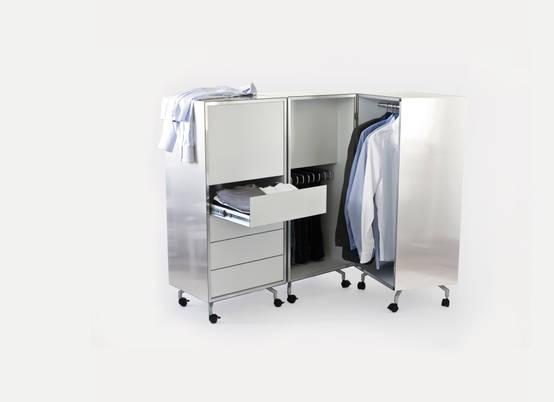 Bedroom closet storage ideas