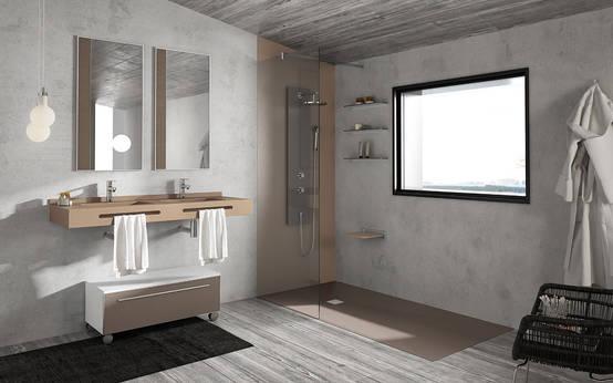Piatto doccia filo pavimento 10 spunti di design - Piastrelle design moderno ...