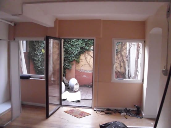 creepy basement to fabulous flat. Black Bedroom Furniture Sets. Home Design Ideas