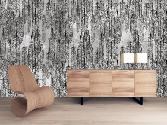 Stunning wallpaper for a luxurious interior