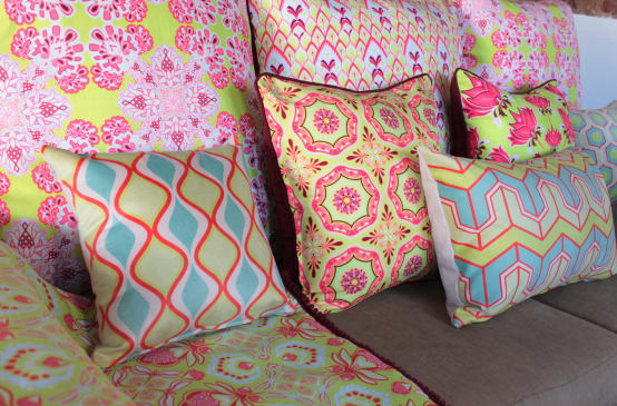 10 easy ways to brighten your home with patterns