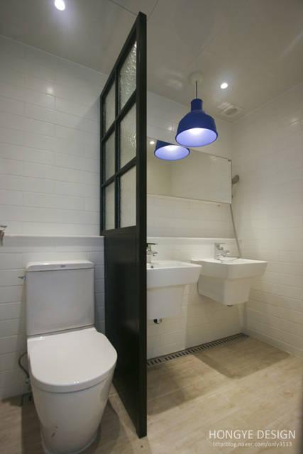 욕실 바닥 : 개성과 실용성을 동시에 추구하기