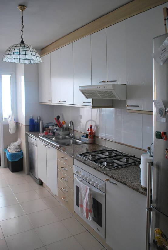El antes y despu s de una cocina un cambio sensacional for Como cocinar setas parasoles