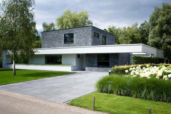 La villa eikenven un joyau d 39 architecture situ aux pays bas - Villa nefkens wageningen aux pays bas ...