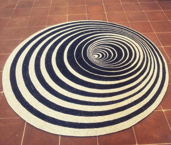 flexible rug mosaic