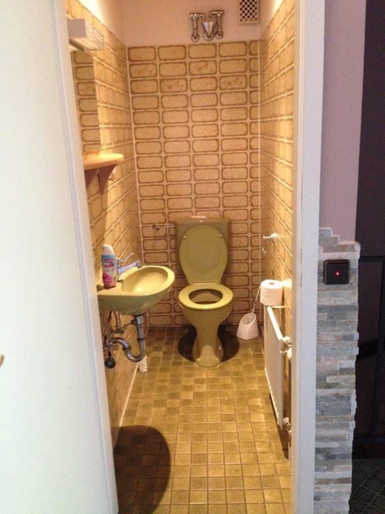 hanno trasformato un vecchio bagno in una splendida cabina