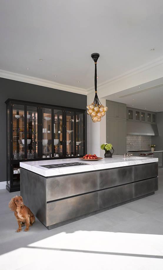 Stilvolle Einrichtungsideen Im Metallic Look