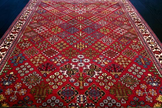 C mo reconocer una alfombra persa for Alfombras persas historia