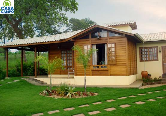 7 casas de madera econ micas y asequibles - Cabanas de madera economicas ...