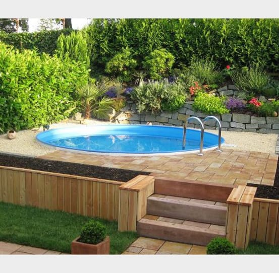 Swimmingpool im garten 6 budgetfreundliche ideen for Rundbecken pool