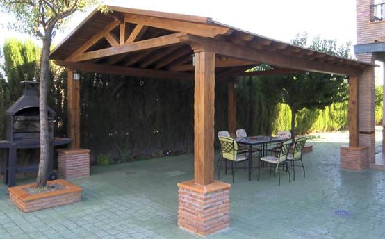 5 p rgolas bonitas e f ceis de construir - Como hacer cobertizo de madera ...