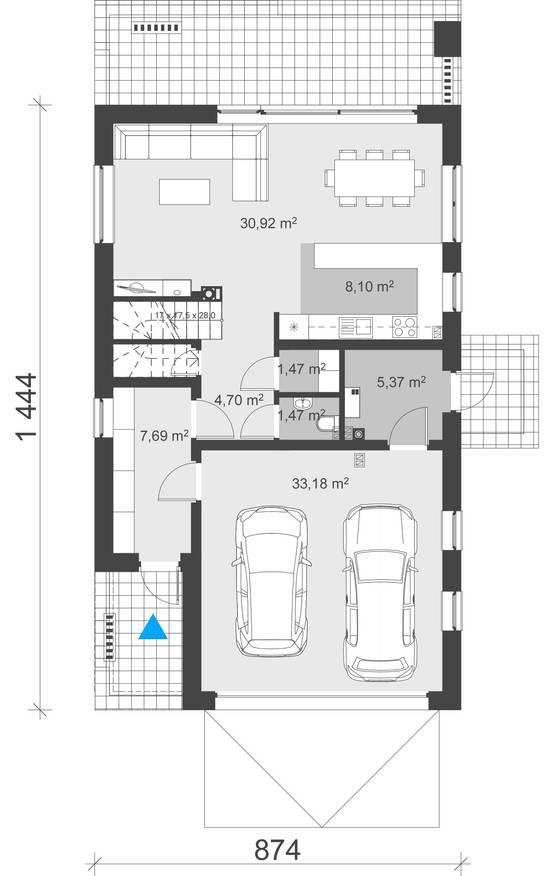 Planos de casas modernas para que puedas dise ar la tuya - Como disenar planos de casas ...