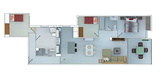 5 case bellissime e moderne con planimetrie per ispirarti for Planimetrie case