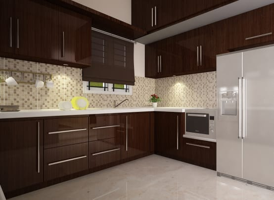 10 fantastic modular kitchen design by mumbai architects. Black Bedroom Furniture Sets. Home Design Ideas