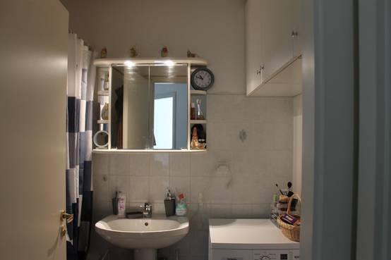 La r novation r ussie d 39 une petite salle de bain for Petite salle de bain renovation