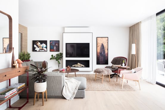 Modern New Home in Hampstead—lounge
