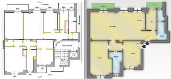 Planimetrie di case e appartamenti 10 esempi per ispirarti for Planimetrie di case personalizzate
