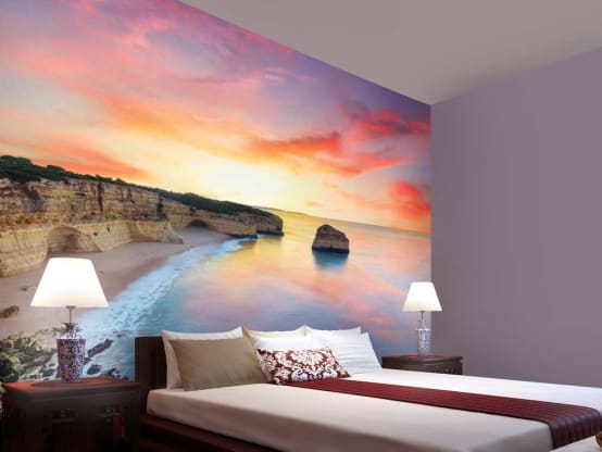 Oceans and Beaches wallpaper designs for wall decor from designer wallpaper store. Walls and Murals