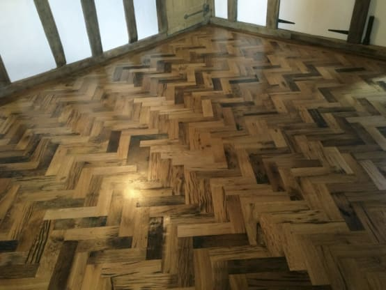 Finished Parquet Floor