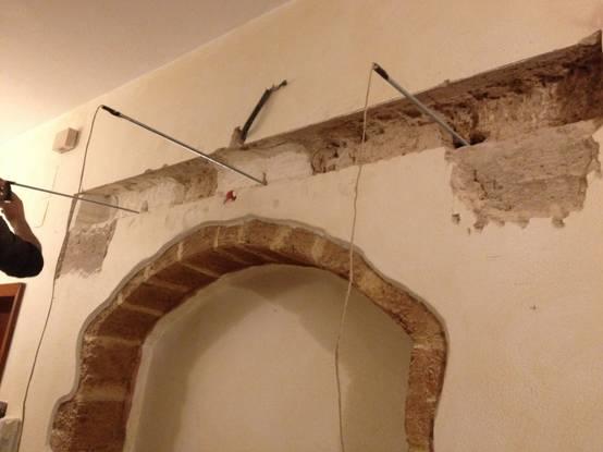 Come aprire un arco nella parete - Aprire una porta in un muro non portante ...