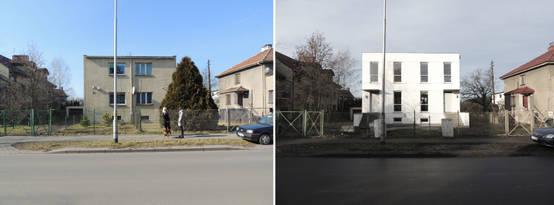 avant apr s la transformation totale d 39 une petite maison. Black Bedroom Furniture Sets. Home Design Ideas