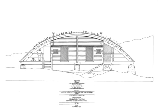 Pods as drawn by their Architect—Andrew McAvoy—Retool Architecture