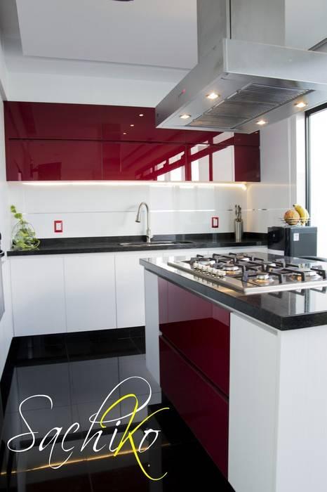 Colores cocinas 2019 para paredes pisos y muebles for Cocina moderna de color