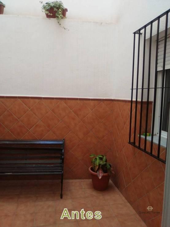 Rehabilitación de rejas y azulejos