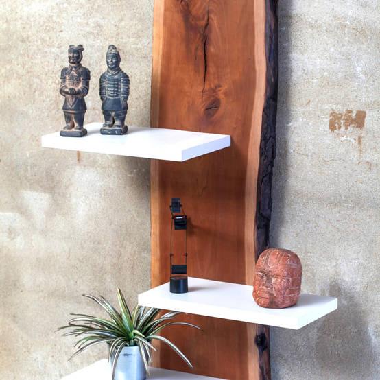 Homify for Mensole ciliegio