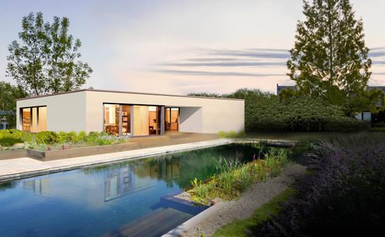hausbau vor und nachteile eines bungalows. Black Bedroom Furniture Sets. Home Design Ideas