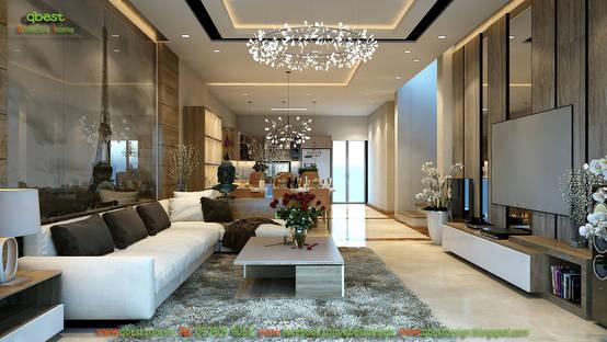 Thiết kế nội thất biệt thự Vinhomes Botanica B11-22 Mỹ Đình, Hà Nội