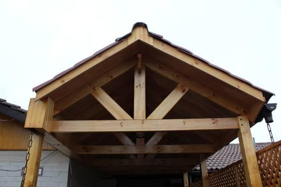 C mo construir un cobertizo de madera para guardar el auto for Cobertizo de madera ideas de disenos