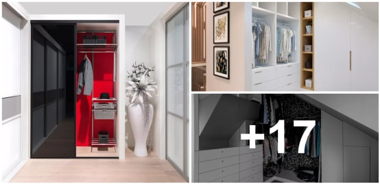 11 armarios perfectos para casas peque as for Closet para habitaciones pequenas