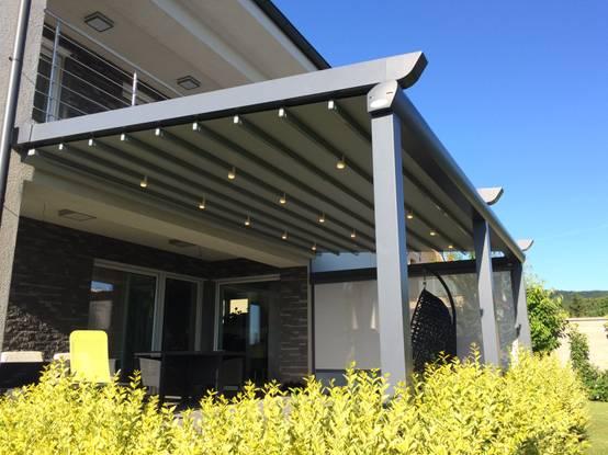 Bahçe ve balkonları güneş ve yağmurdan korumanın yolları
