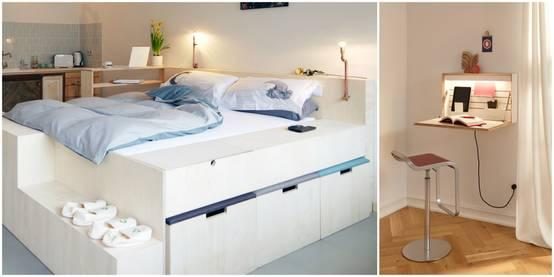 18 muebles multifuncionales perfectos para casas peque as - Muebles para casas pequenas ...