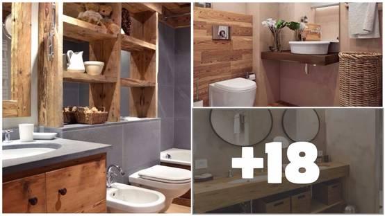 20 fantastici bagni in cui il legno protagonista - Bagni esterni in legno ...