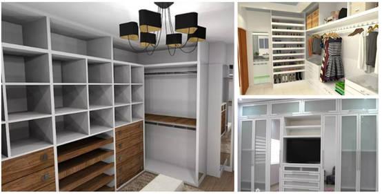 15 cl sets modernos que te van a gustar para tu casa for Closet de tablaroca modernos
