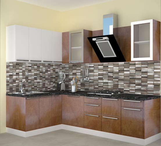 Modular Kenya Project Simple L Shaped Small Kitchen: Homify