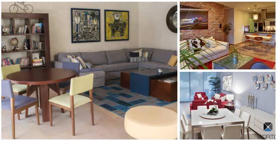 Modelos De Sala Comedor Pequeños : Diseños de comedor y cocina juntos para espacios pequeños