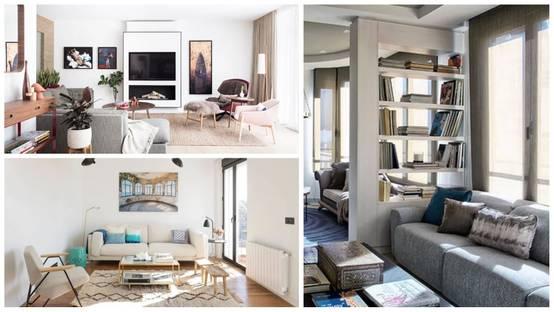 10 idee per un soggiorno piccolo ma avvolgente for Idee per arredare un piccolo soggiorno